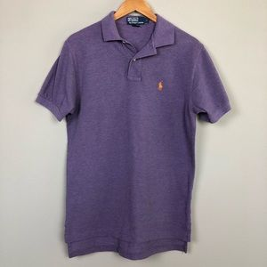 Polo by Ralph Lauren Men's Purple Polo Size Small